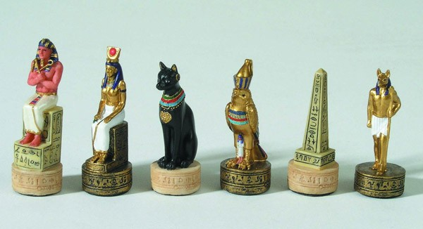 Schachfiguren Ägypten