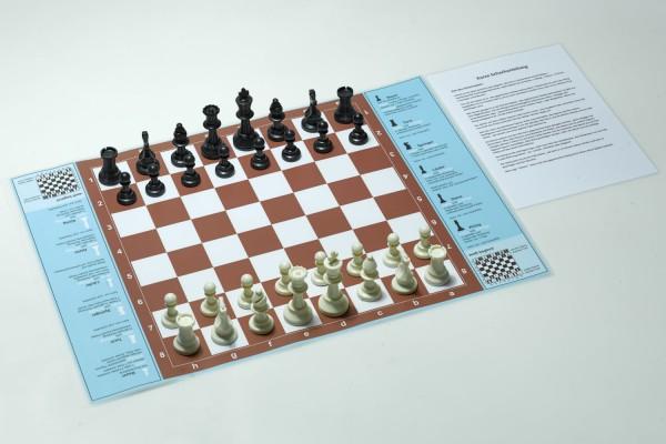 Schachspiel Schach für Anfänger Groß, 42x60 cm